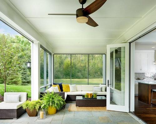 Porch extension design ideas remodel pictures houzz Porch extension