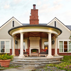 Traditional Porch by Michael Lyons Architect