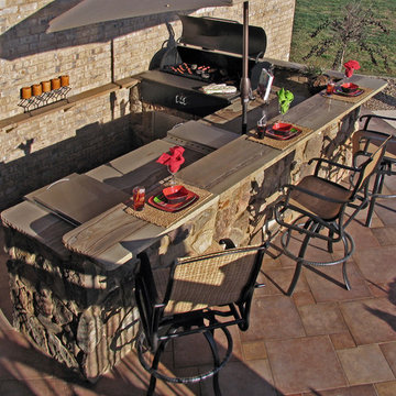 Outdoor Kitchen - Campbell Residence
