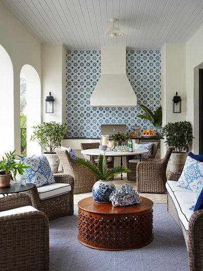 Tropical Verandah by Summer Thornton Design, Inc
