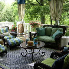 Traditional Porch by Lucas Patton Design