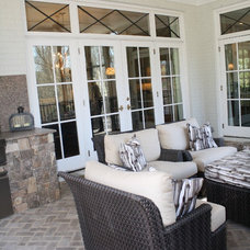 Traditional Porch by Carmen Honeycutt Interiors