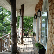 Traditional Porch by David Nosella Interior Design