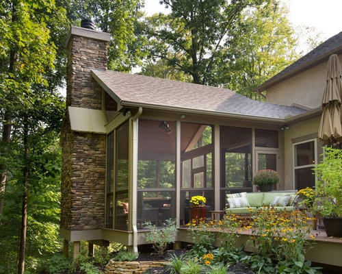 Screen Porch Fireplace Screened Porch FireplaceScreened Porch