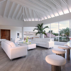 Contemporary Porch by Brown's Interior Design