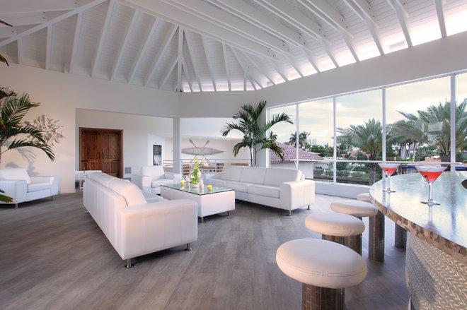 Contemporary Porch by Brown's Interior Design