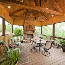 Traditional Porch by Starr Homes