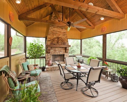 Outdoor lanai houzz for Small lanai decorating ideas