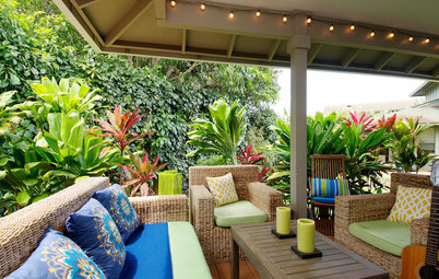 Houzz Tour: Colorful, Casual Hawaiian Vacation Home
