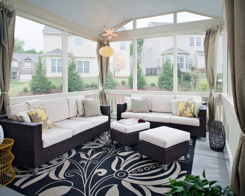enclosed patio houzz - Enclosing A Patio Ideas