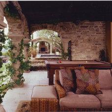 Eclectic Porch by Design Focus