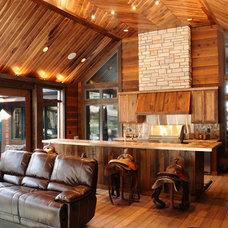 Rustic Porch by JG Development, Inc.