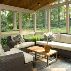 Modern Porch by Owings Brothers Contracting