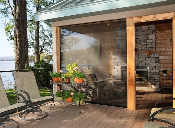 Contemporary Porch by JG Development, Inc.