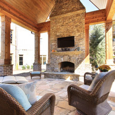 Traditional Porch by Alex Custom Homes, LLC
