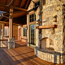 Traditional Porch by ACM Design
