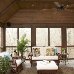 contemporary porch by Structures, Inc.