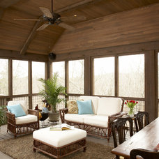 Rustic Porch by Structures, Inc.