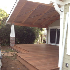Traditional Porch by Clayton Nelson & Associates
