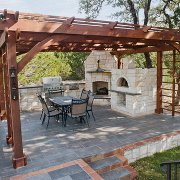 Outdoor Rustic Kitchen