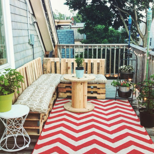 22 Eclectic Porch Ideas: Eclectic Boston Porch Design Ideas, Remodels & Photos