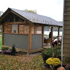 Contemporary Porch by Fujita + Netski Architecture, LLC