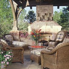 Traditional Porch by Karen Forey Design Group