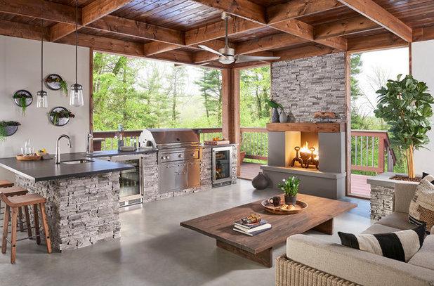Porch by Eldorado Stone