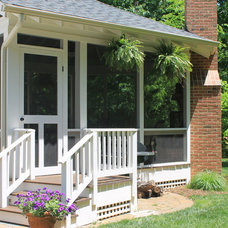 Traditional Porch by Villa Builders, Inc.