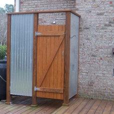 Contemporary Porch by Konrady & Son Construction, LLC