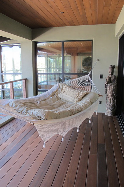 Eclectic Porch Oxnard Marina Residence
