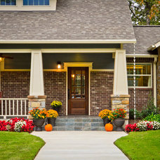 Traditional Exterior by PBH Construction