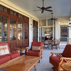 Traditional Porch by Court Atkins Architects