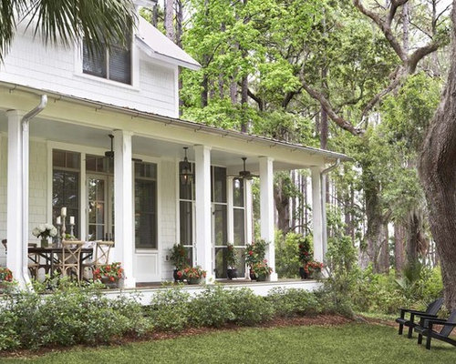 Veranda home design ideas pictures remodel and decor for House plans with columns and porches