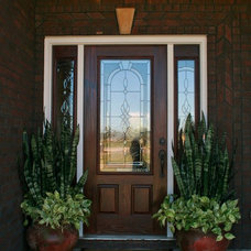Traditional Porch by Crabbe Construction