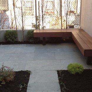 This is an example of a modern porch design in New York.