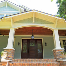 Craftsman Porch by Sunset Properties of Tampa Bay