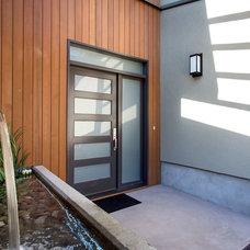 Modern Porch by Kingdom Builders