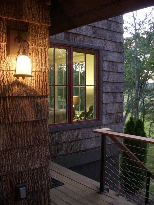 Poplar Bark Siding Houzz