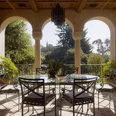 Mediterranean Porch by Alderson Construction