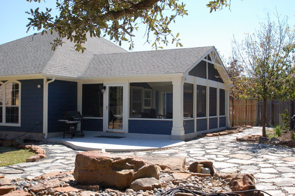 Traditional Porch by Austin Outdoor Living Group