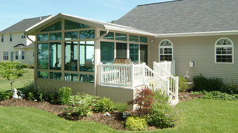 Patio Enclosures Sunroom with Deck