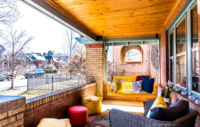 A Denver Porch Makes a Happy Connection With Neighbors