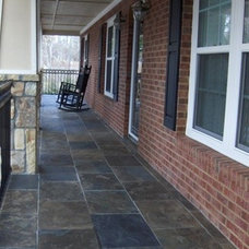 Porch by ARNOLD Masonry and Landscape
