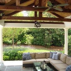 Traditional Porch by R.J. Stewart Inc, Fine Home Building & Renovations