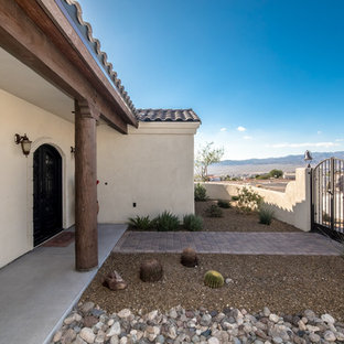 This is an example of a southwestern porch design in Phoenix.