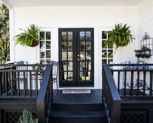Black And White Porch Design Ideas Remodels amp Photos Houzz