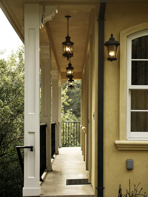 Front porch lights houzz for Exterior front door lights