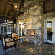 traditional porch by Dewson Construction Company