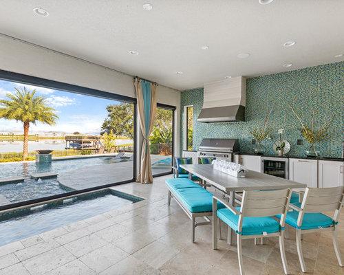 Veranda mit Outdoor-Küche Ideen, Design & Bilder | Houzz